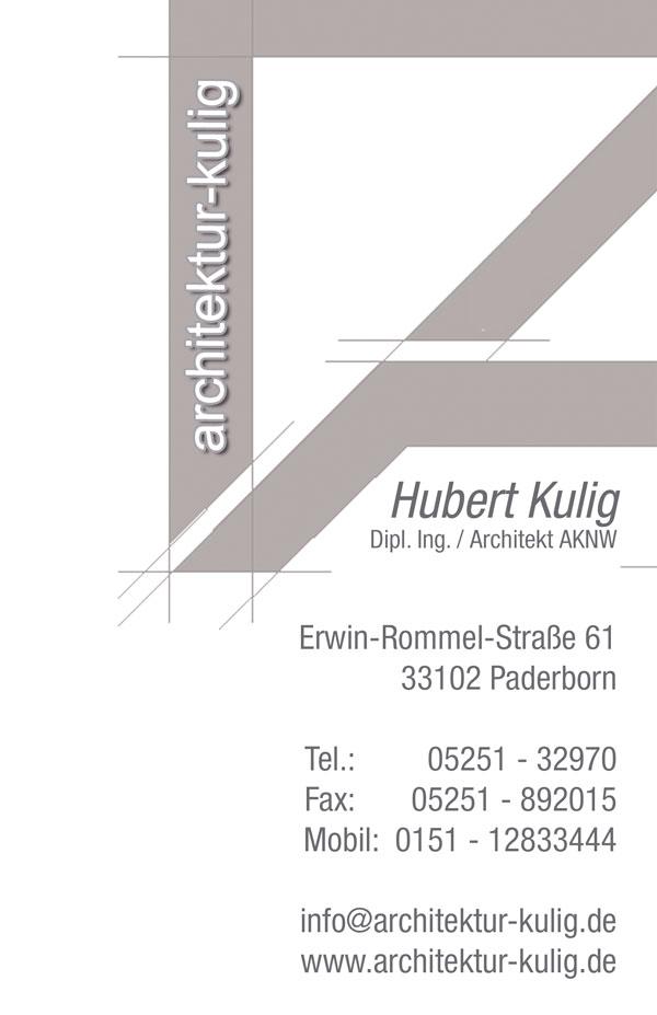 Architekt Paderborn architektur kulig com hubert kulig architekt und bauleiter